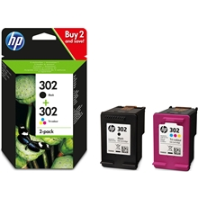 HP 302 Duo Pack