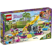41374 LEGO Friends Andreas Poolparty