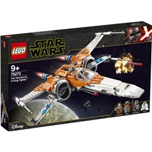 75273 LEGO Star Wars Poe Damerons Xwing Fighter