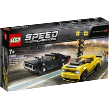 75893 LEGO Speed Dodge Challenger & Dodge Charger