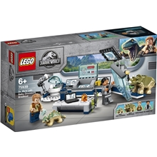 75939 LEGO Jurassic World Doktor Wus lab