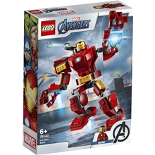 76140 LEGO Super Heroes Iron Man-robot