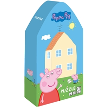 Peppa Gris Deco Puslespill Peppas Hus