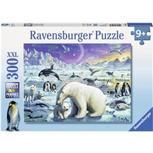 Puslespill XXL 300 Deler Polar Animals Gathering