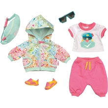 BABY Born Play & Fun Deluxe Biker Outfit