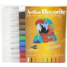 Artline Decorite Tusjpenner Rund Spiss Satin