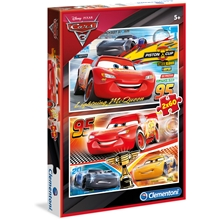 Puslespill 2 x 60 Special Collection Cars 3