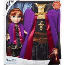 Frozen 2 Toddler Doll Anna + Kjole