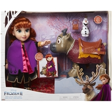 Frozen 2 Travel Doll Anna + Sven