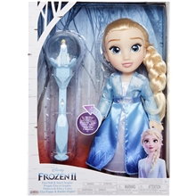 Frozen 2 Toddler Doll Elsa + Spire