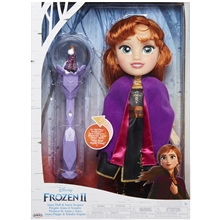 Frozen 2 Toddler Doll Anna + Spire