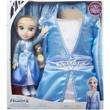 Frozen 2 Toddler Doll Elsa + Kjole