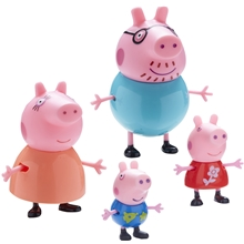 Peppa Gris Familie