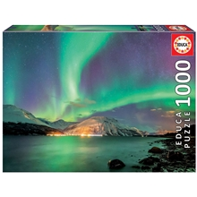 Puslespill 1000 Deler Northern Lights