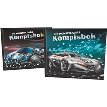 Monster Cars Kompisbok