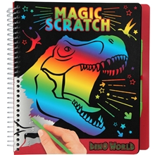 Dino World Magic Scratch Bok