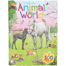 Create Your Animal World Håndtverksbok