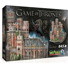 Wrebbit 3D-Puslespill Game of Thrones Red Keep