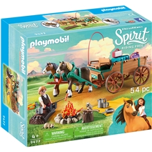 9477 Playmobil Luckys pappa og vogn