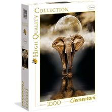 Puslespill 1000 deler The Elephant