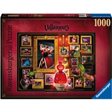 Puslespill 1000 Deler Villainous: Queen of Hearts