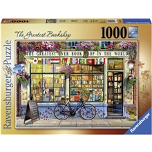 Puslespill 1000 Deler The Greatest Bookshop
