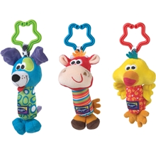 Playgro Vognleke 3-Pack