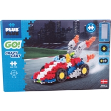 Plus-Plus Go! Crazy Cart
