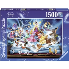 Puslespill 1500 Deler Disney's Magical Storybook