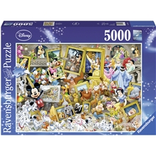 Puslespill 5000 Deler Disney Multiproperty