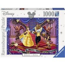 Puslespill 1000 Deler Beauty and The Beast