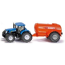 Siku Tractor Single Axle Tank 1:50