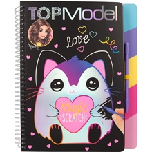 TOPModel Magic Scratch Bok Love