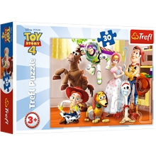 Puslespill 30 Deler Toy Story 4 Ready To Play