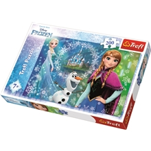 Puslespill 200 Deler Frozen Power Of Sisters