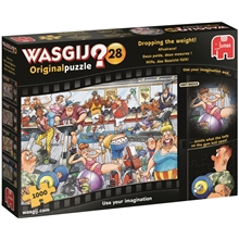 Wasgij Original #28 Dropping The Weight