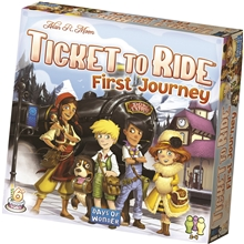 Ticket To Ride First Journey SE