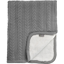 Vinter & Bloom Pledd Cuddly Dove Grey