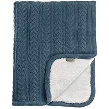 Vinter & Bloom Pled d Cuddly Storm Blue