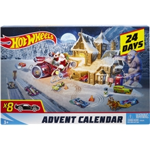 Hot Wheels Julekalender