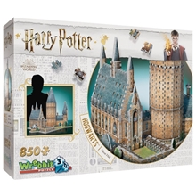 Wrebbit 3D Puslespill Harry Potter Hogwarts Hall