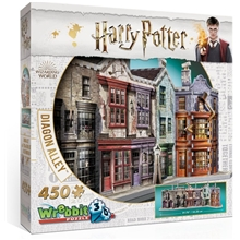 Wrebbit 3D Puslespill Harry Potter Diagon Alley