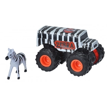 Wild Republic Mini Adventure Truck Zebra